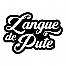 Sticker Langue de pute