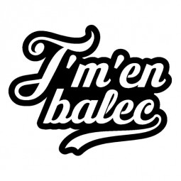 Sticker J'm'en balec